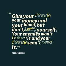 Image result for arabic proverb that means no way