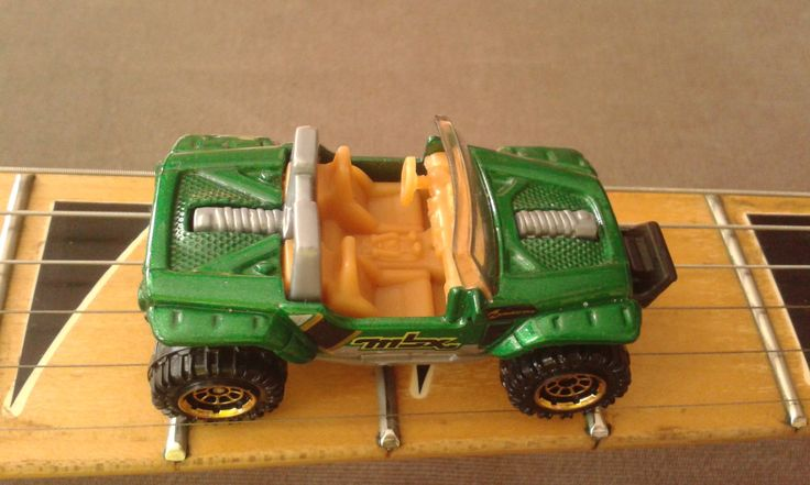 Here's a stop motion of metallic green Matchbox Jeep Hurricane from the 2014 MBX Explorers series. The Game Boy sounding song used in the video is a chiptune made with a tracker (not LSDJ). Hope you enjoy it!  Next week I'll upload Hot Wheels '69 Ford Mustang Boss 302.  Music and photography by MotionRide.