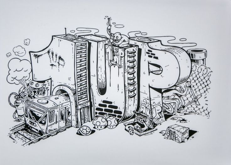 Image of 1Up Crew - I Am 1Up Graffiti Crew