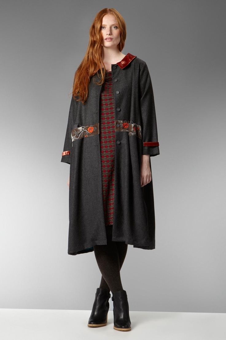 TM Collection,Cascais,Portugal | TM Collection Wool Embroidered Coat at Sahara