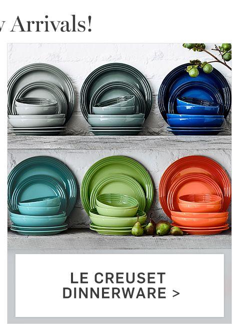 Le Creuset Dinnerware >