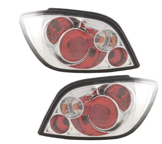 Peugeot 307 Hatchback 2001-2008 Chrome Lexus Rear Lights