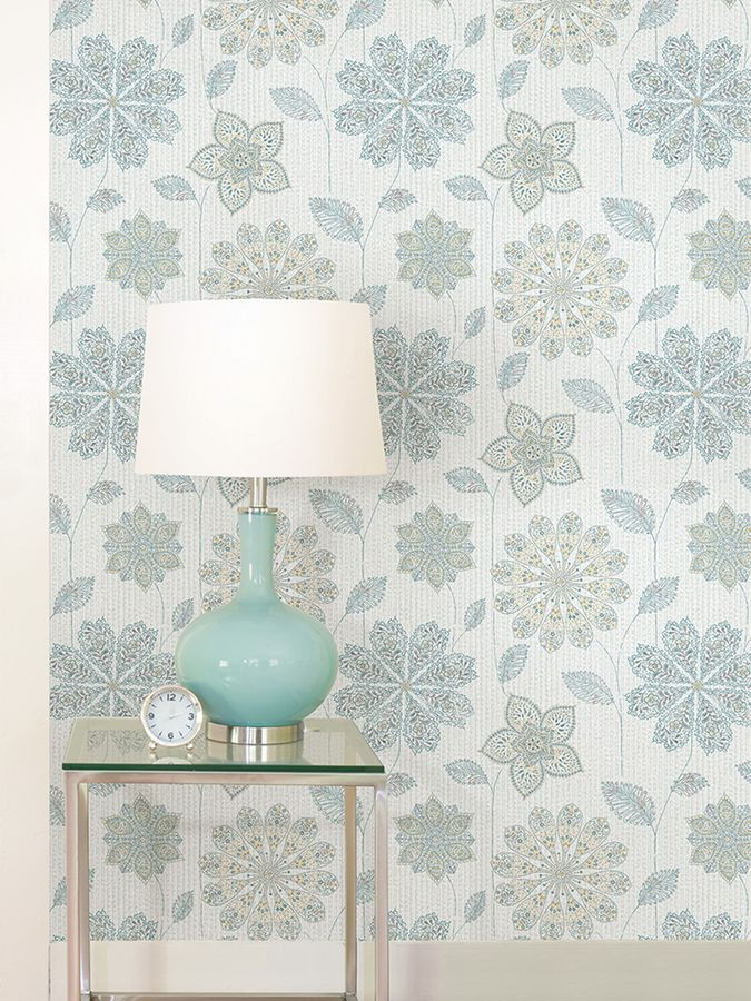 Brewster Gypsy Floral Peel and Stick Wallpaper Peel