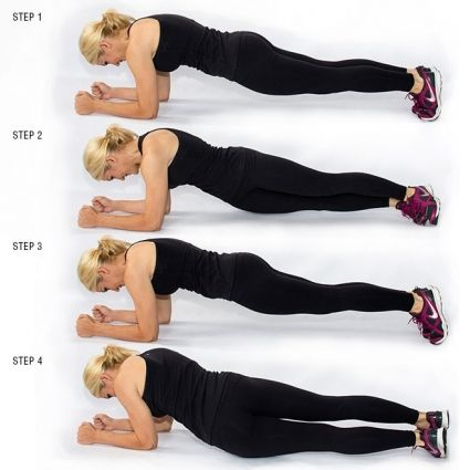 Lose muffin top with these moves