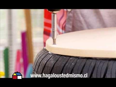 Ideas para transformar un neumático en un asiento original - Notas - La Bioguía