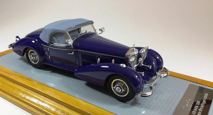 il102 1/43 Mercedes-Benz 540K 1939 Spezial Roadster Sindelfingen sn408383