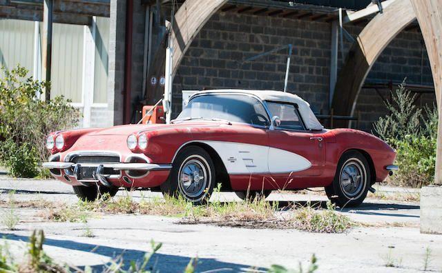 1961 Chevrolet Corvette Roadster Project Chevrolet Corvette