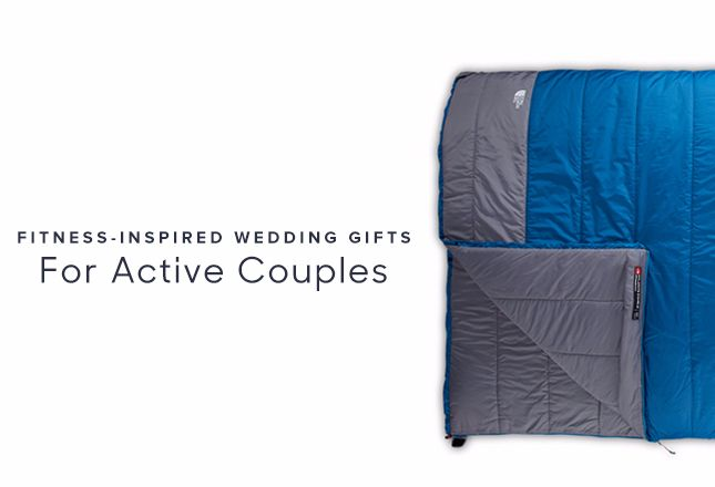 Wedding Gifts For Active Couples : Fitness-Inspired Wedding Gifts for the Active Couple