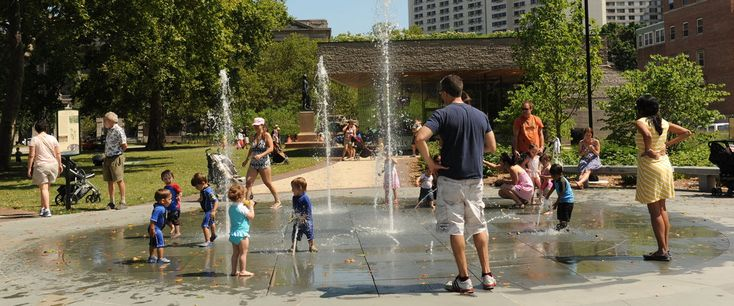 Free Water Fun: Splash Pads and Sprinklers at Philly Area Parks