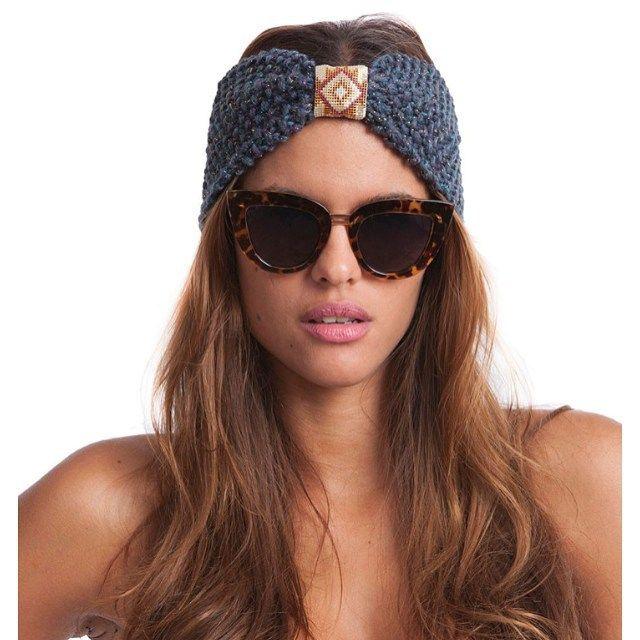 Supertrendy hårbånd fra Hipanema! Også i sort med glitter! #hipanema #hårbånd #strikk #fashion #winther2015 #headband #ambiente