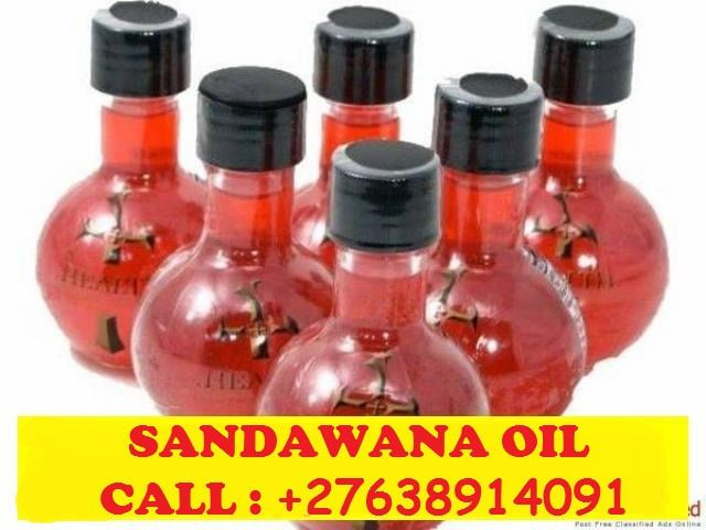 Sandawana Oil for love ,Luck and money  27638914091Do you want to become successful in your life and business, contact me for Srandawana oil because it's the only oil which have power to fulfill all your desires.Do you really don't know the use of sandawana oil ,It gives the real results of what you want.There are very many people all over the world live in happy life not because of their effort but the help of sandawana oil. Sandawana oil helps in the following:  When you want to boost…