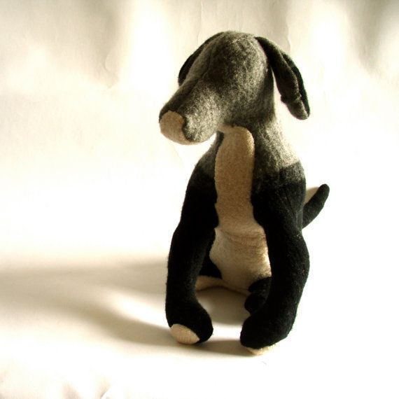 A Big Striped Dog by zfla on Etsy