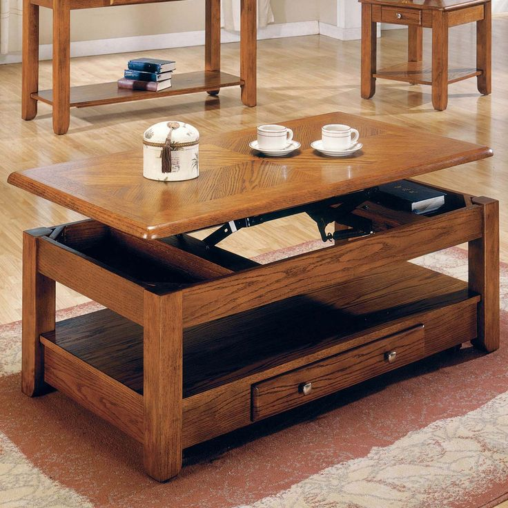 Steve Silver Nelson Lift-Top Cocktail Table With Casters