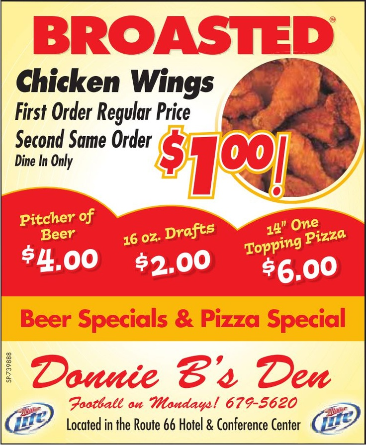 Looking for a place to watch MONDAY NIGHT FOOTBALL tonight....look no further!  Awesome specials on food and drink!