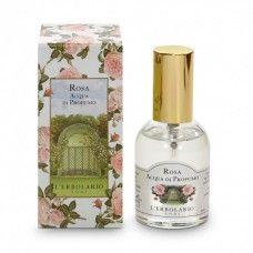 Rózsa illatú Eau de Parfum - Rendeld meg online! Lerbolario Naturkozmetikumok http://lerbolario-naturkozmetikumok.hu/kategoriak/testapolas/parfumok