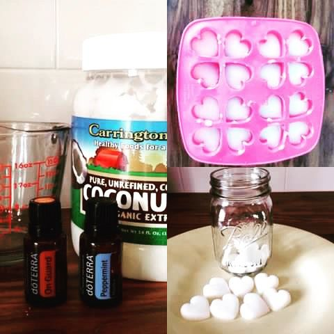 Oil Pulling Oil Bites: mix 6 drops On Guard and 6 drops Peppermint oil with 1/3…