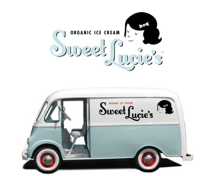 nice ice cream truck