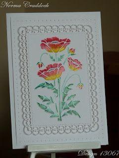 Sweet Poppy Stencil