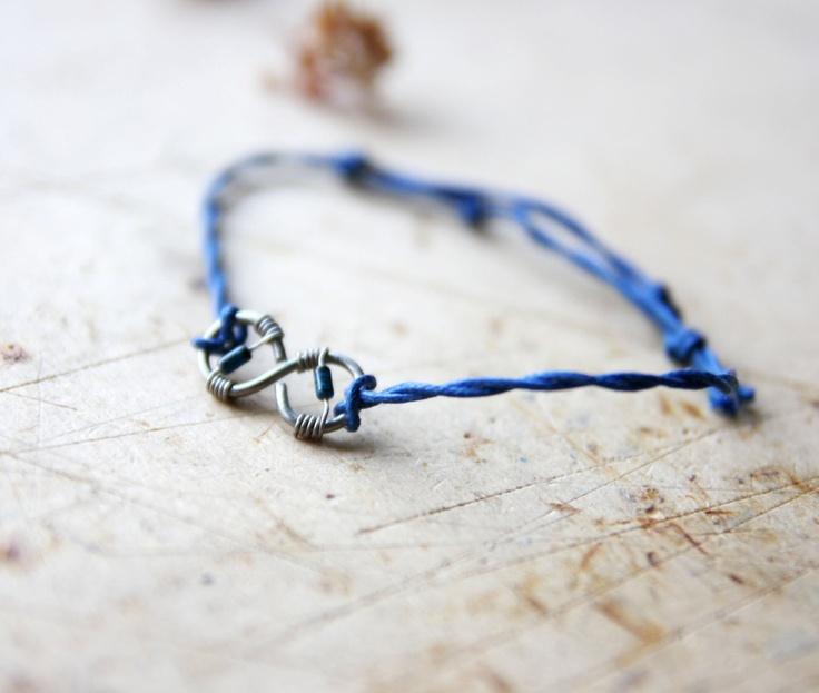 Infinity Bracelet - Infinity Jewerly - Friendship Bracelet - Love Bracelet - Carm Bracelet. $20.00, via Etsy.