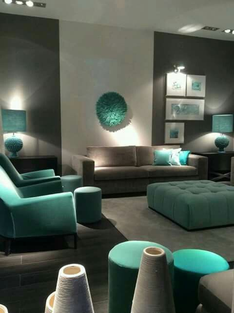 M s de 25 ideas incre bles sobre sof s de color gris for Decoracion salon wengue