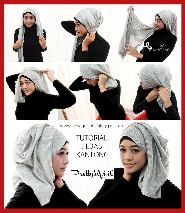 Port Of Tasya: Hijab Tutorial : Jilbab Kantong