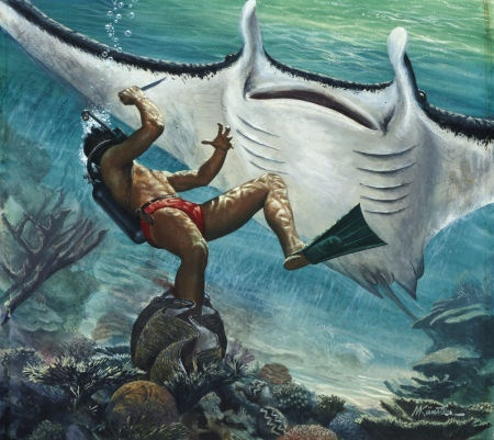 Double Trouble, The Giant Manta-Ray