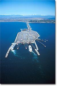 Tsawwassen BC, Delta, Vancouver, British Columbia, Canada.  Taking the ferry to Salt Spring Island