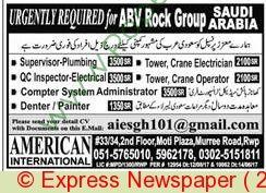 Supervisor Electrician Painter Jobs In Saudi Arabia