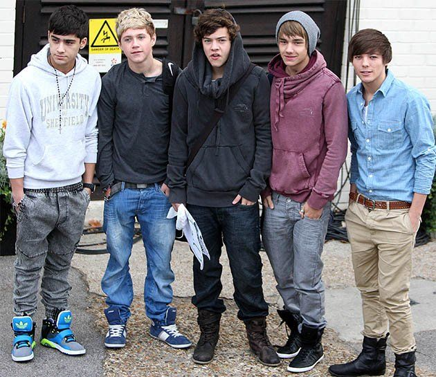 One Direction style evolution