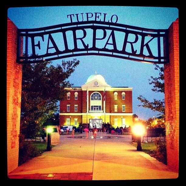 Fairpark In Downtown Tupelo