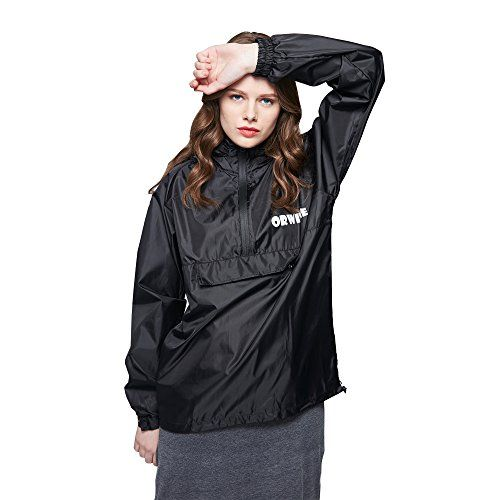 New Trending Outerwear: HC Unisex Raincoat Packable Outdoor Waterproof Hooded Rain Jacket Poncho-black-M. HC Unisex Raincoat Packable Outdoor Waterproof Hooded Rain Jacket Poncho-black-M   Special Offer: $13.99      388 Reviews Unique design and the nice price The above cuffs of the raincoat not only contain elastic bands, but also have two buttons to prevent the rain drops to the cuffs,...