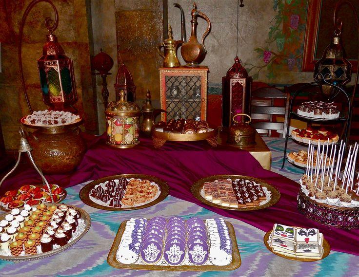 arabian cakes/ dessert table | Oh Sugar Events: November 2011