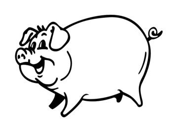 pig template for preschoolers - 17 best images about q shack on pinterest kids art