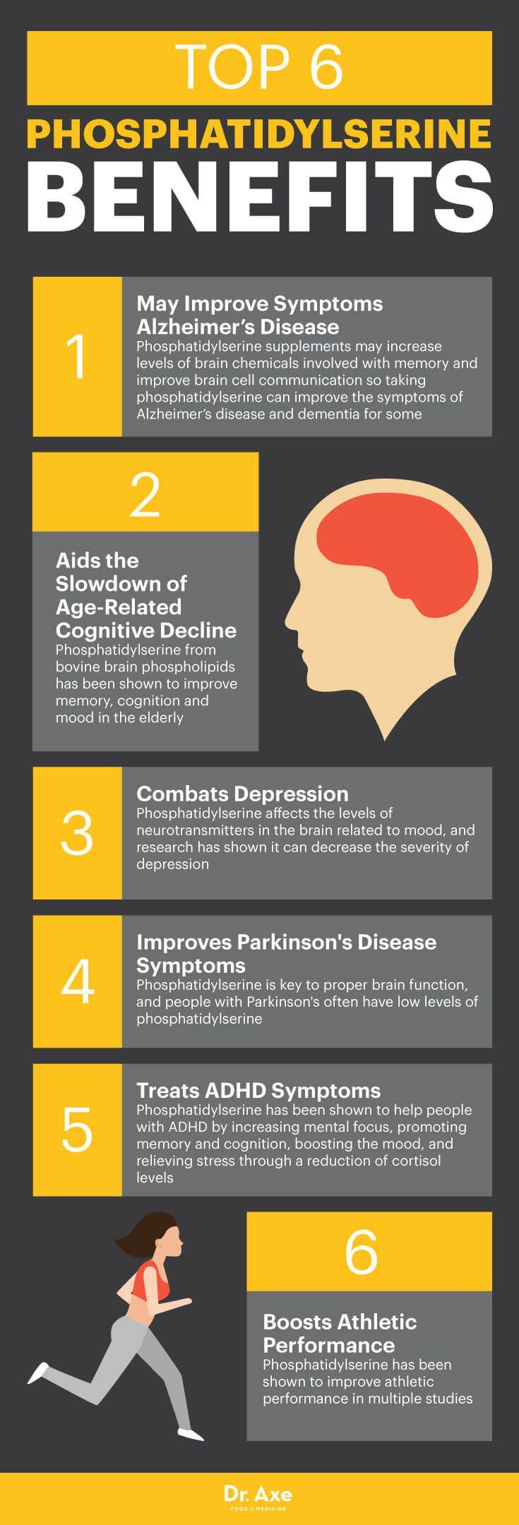 Phosphatidylserine benefits - Dr. Axe http://www.draxe.com #health #holistic #natural