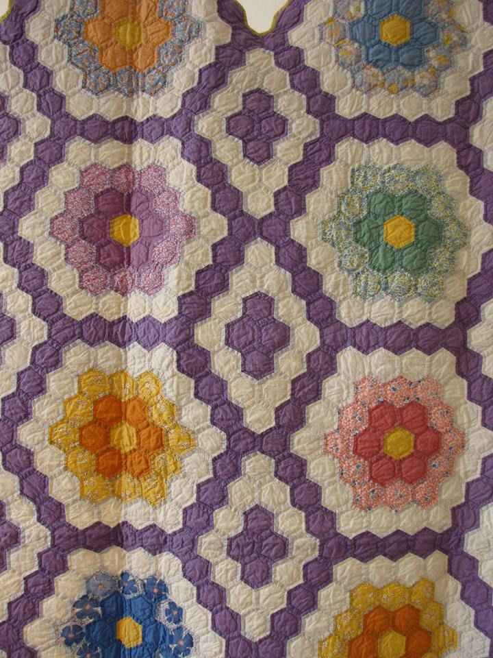 1000 Images About Grandmother S Flower Garden Quilts On