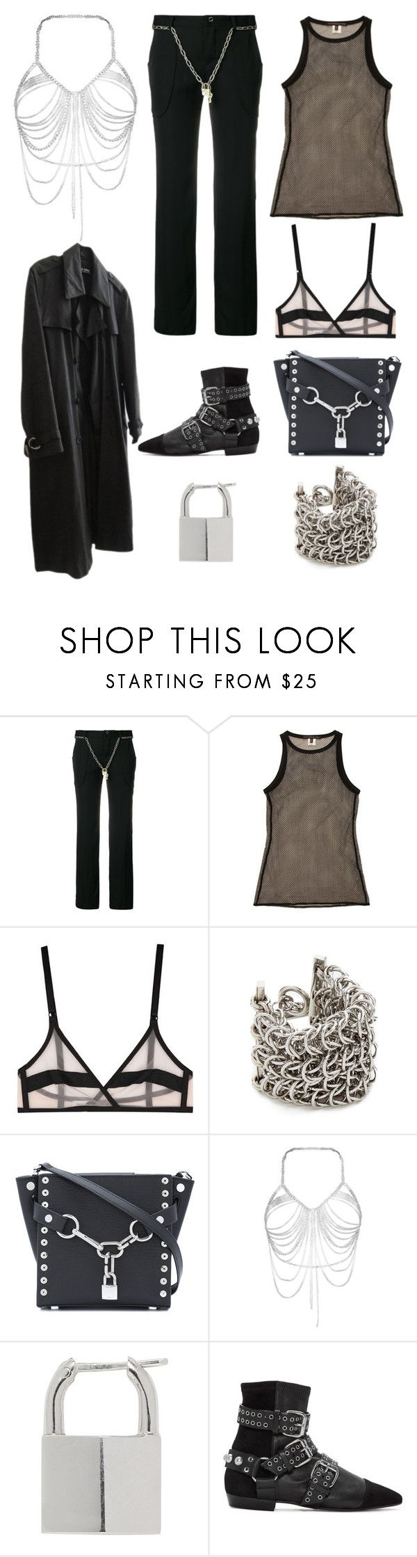 """""""Untitled #1271"""" by nojawrabbit ❤ liked on Polyvore featuring Jean-Paul Gaultier, Alessandro Dell'Acqua, Yasmine eslami, Alexander Wang, Lauren Klassen, Isabel Marant and Raf Simons"""