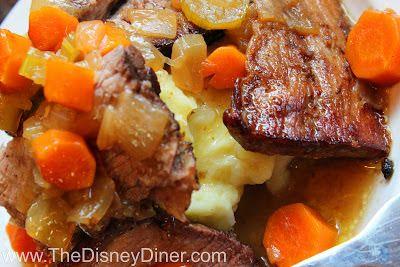 The Disney Diner: 50's Prime Time Cafe: Mom's Old-Fashioned Pot Roast Recipe