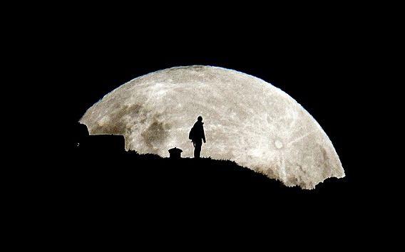 super moon: Mount Eden, Moon Rise, Super Moon, Mt Eden, Newzealand, Full Moon, Supermoon, New Zealand, The Moon