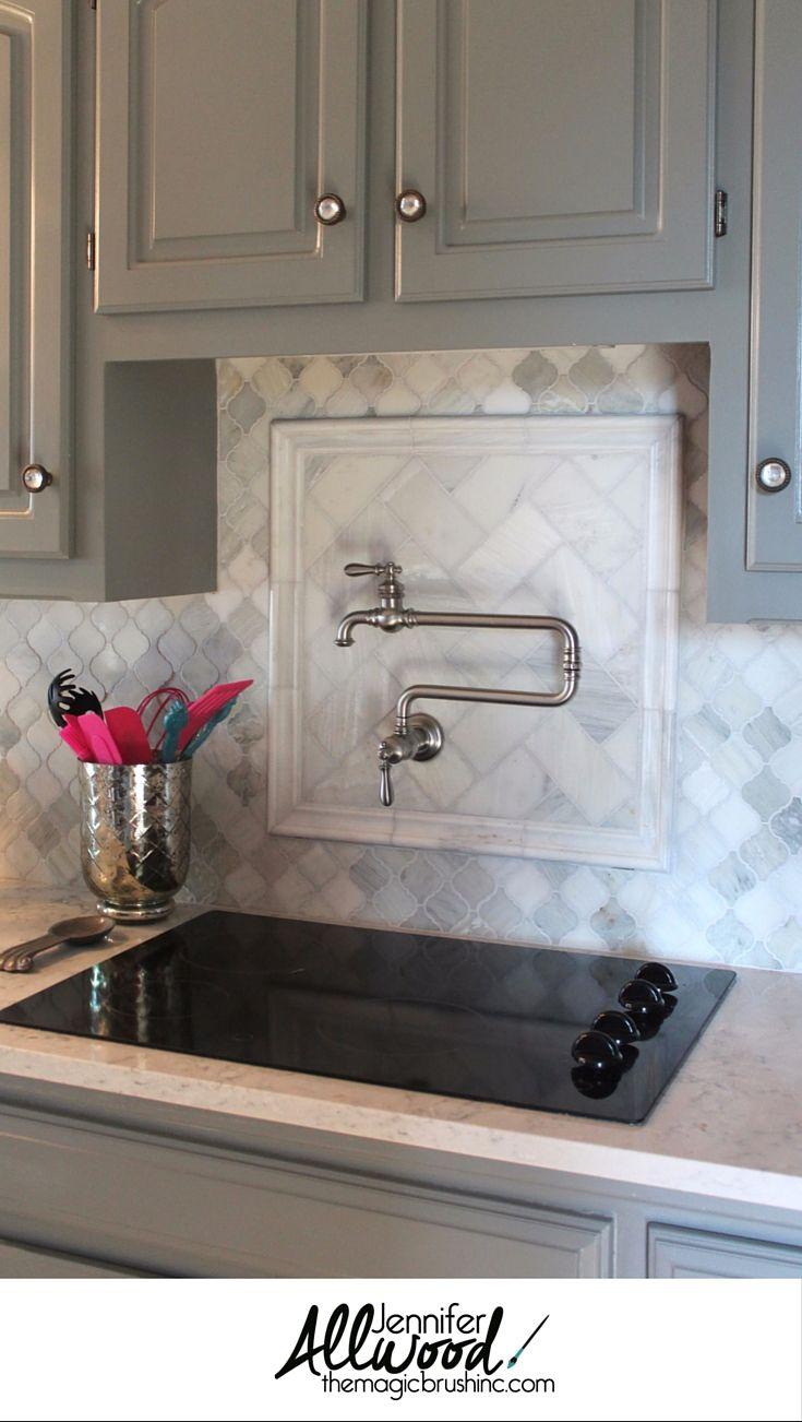 Kitchen Backsplash Pot Filler Faucet