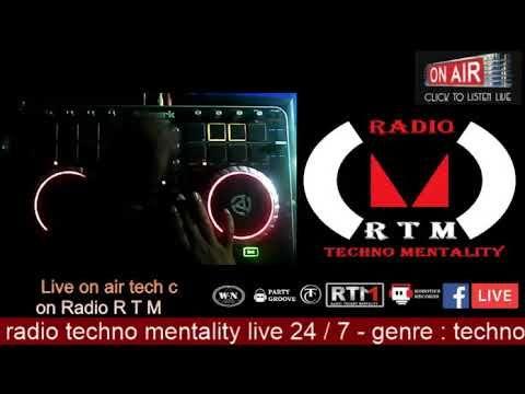LIVE ON AIR TECH C at RADIO RTM
