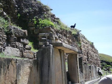 While not as famous as the ruins at Machu Picchu, the Chavín de Huantar Ruins of Peru are also a fascinating World Heritage Site containing ruins and artifacts originally constructed by the Chavín, a pre-Inca culture, around 900 BC. T