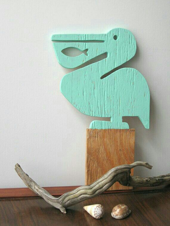 <3 The Perfect Pelican for the porch