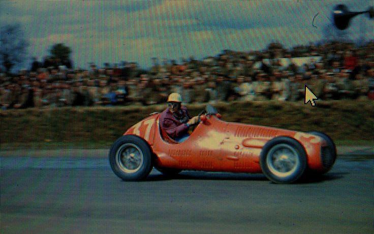 1952 GP Wielkiej Brytanii (Silverstone) Maserati 4CLT (Enrico Plate)