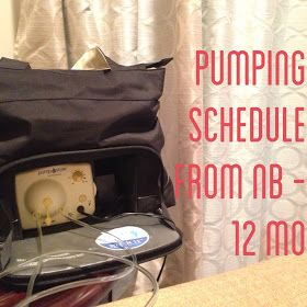 Naptime Tales: Pumping Schedule