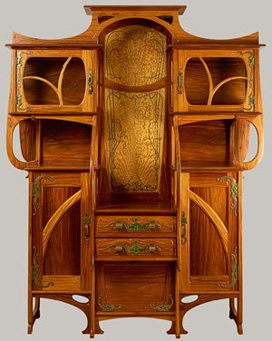 Gustave Serrurier-Bovy, 1899. Modern Furniture, Art Nouveau, Furniture Arrangements, Painting Furniture, Metropolitan Museum, Artnouveau, Art History, Hobbit House, Art Deco