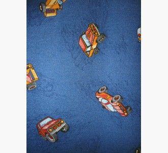 Cars Blue Παιδική Μοκέτα