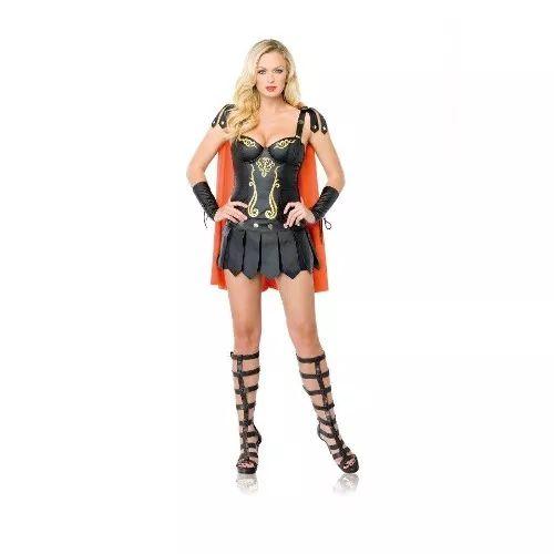 Disfraz Spartana Sexy Halloween Talla Grande Muy Hermoso - $ 1,699.00
