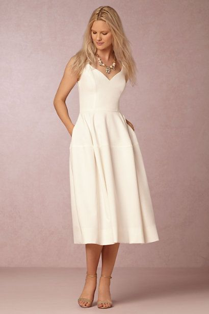 BHLDN Camilla Dress in Bride Beach & Honeymoon at BHLDN #bhldnwishes