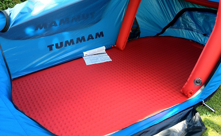 #Mammut Lodge - Prototype Single Bivy Tent - Tent with Mat - Frame: Air Tubes instead of tent poles
