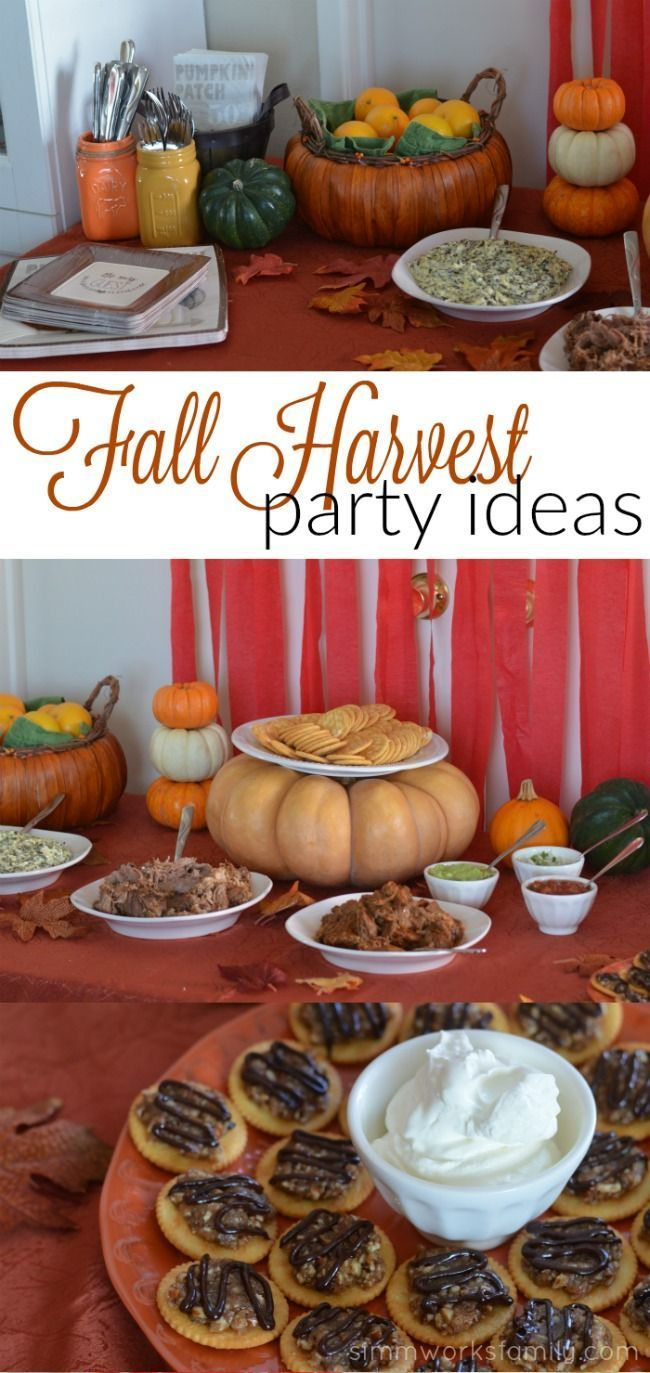 Fall Harvest Party Ideas #LuvRitz AD
